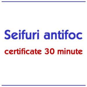 Seifuri antifoc 30 minute