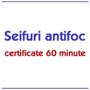 Seifuri antifoc 60 minute
